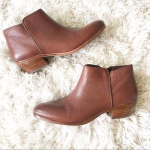 Sam Edelman | Petty Brown Leather Ankle Boot 8